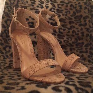 Schutz Natural Sandals
